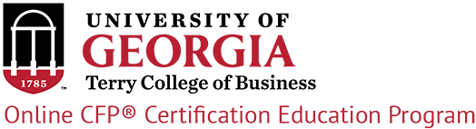 University of Georgia Online Certified Financial Planner Program